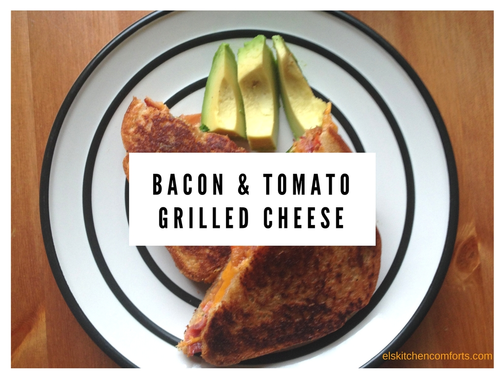 bacon and tomato grilled cheese