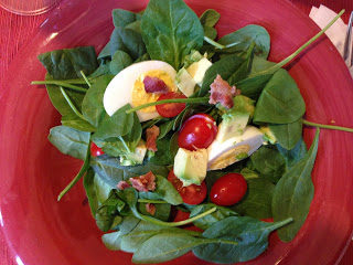 Deconstructed Spinach Salad