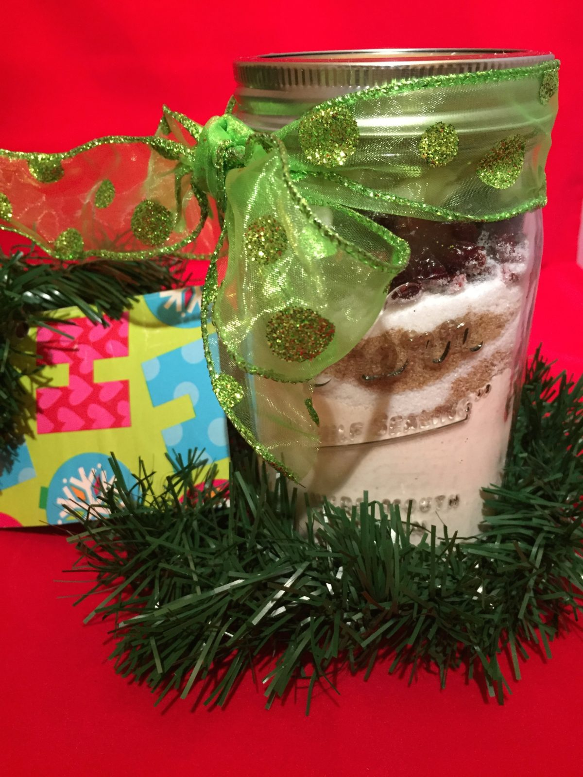 Holiday Cookie Gift Jar