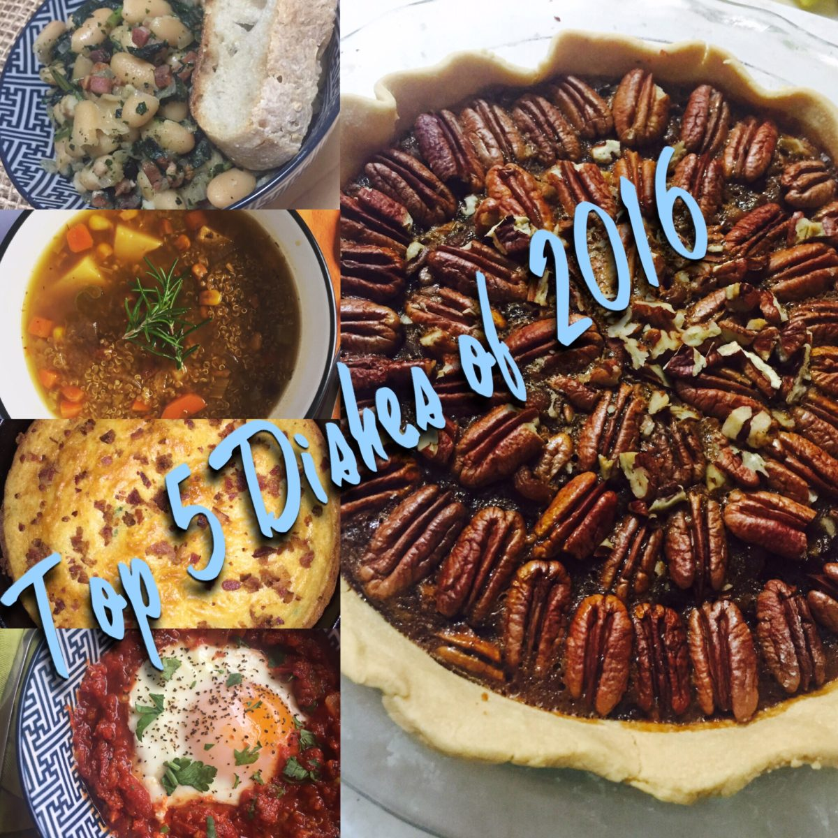 Top Five Dishes 2016