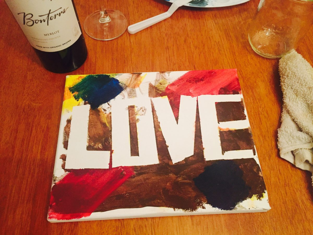 Paint and Wine Party