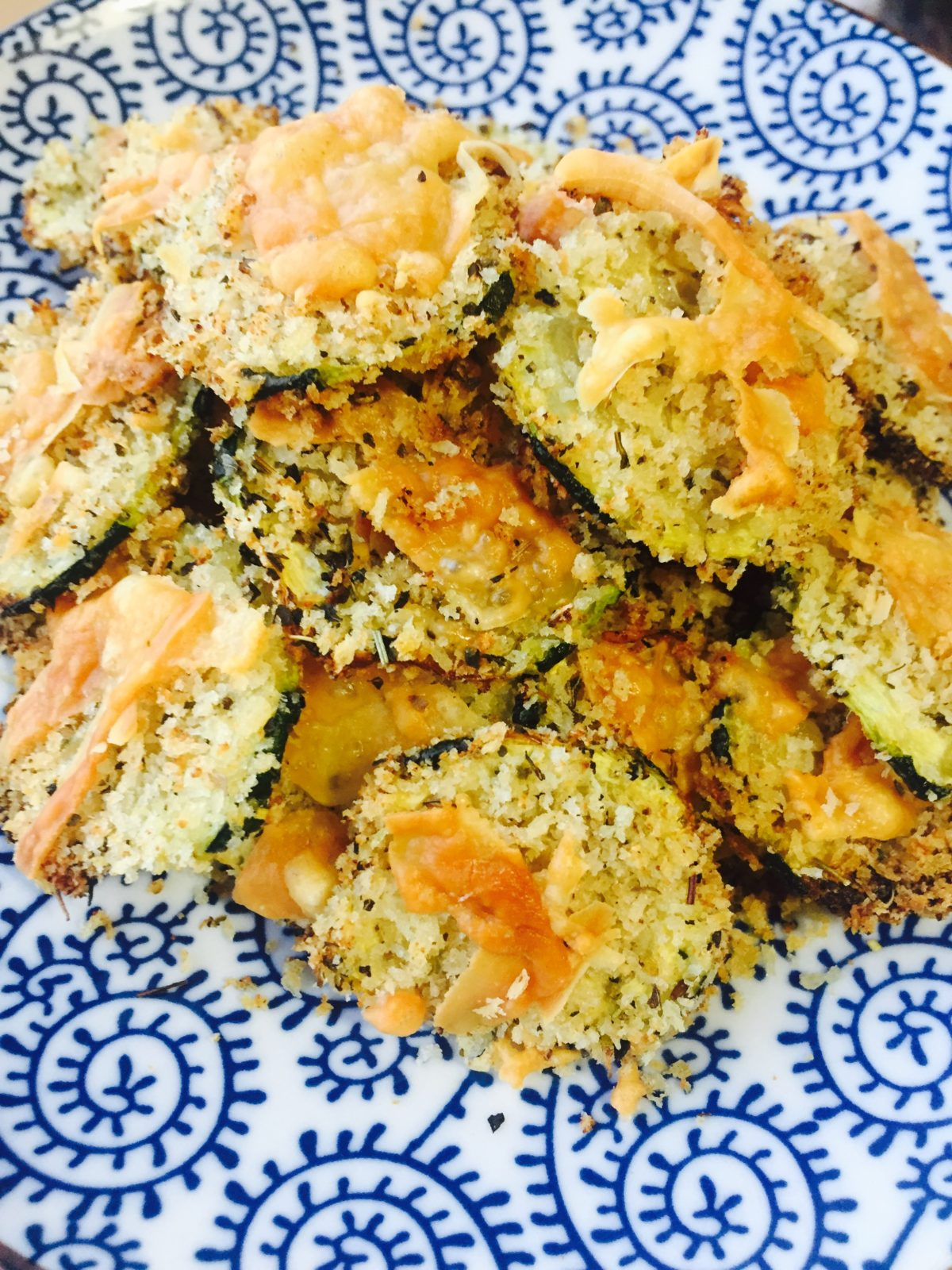 Baked Parmesan Zucchini Chips