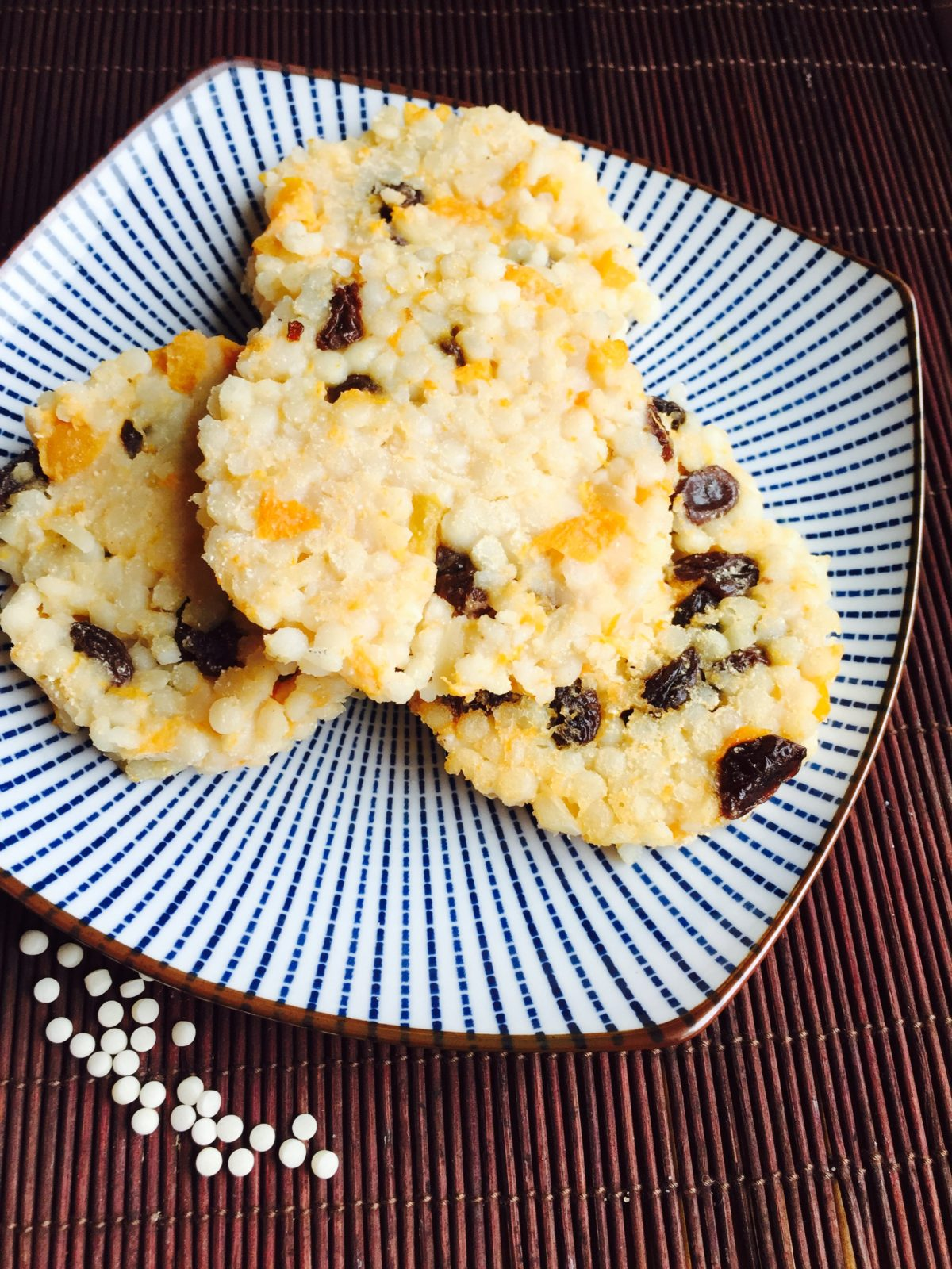 Apricot Raisin Couscous Cake