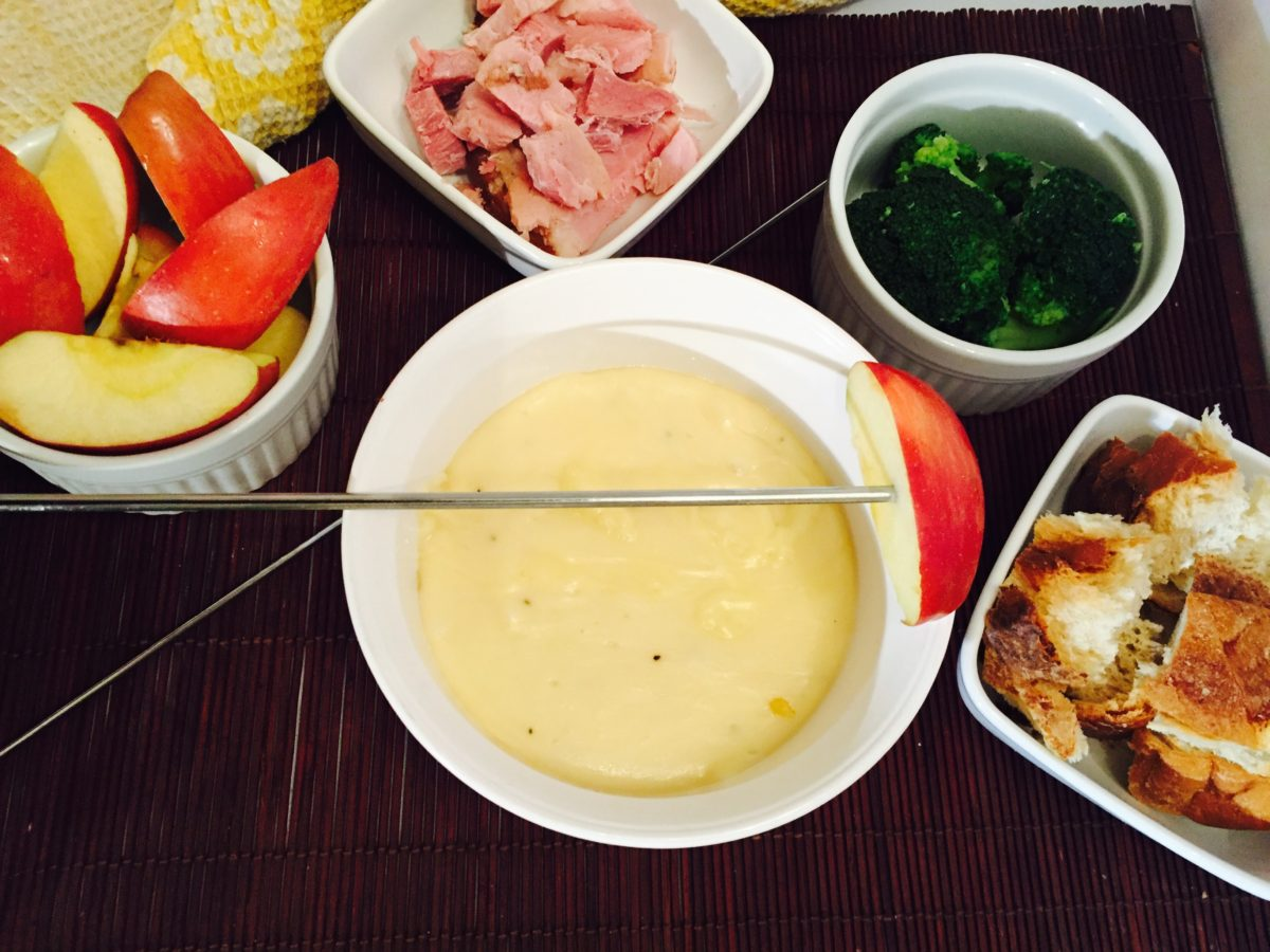 Easy Cheese Fondue