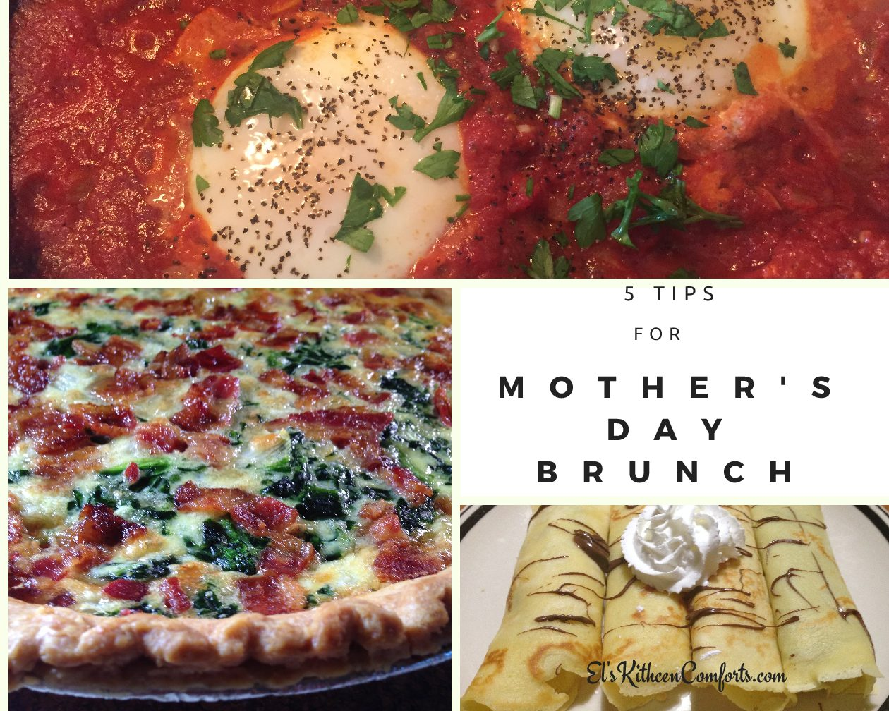 5 Tips for Mother's Day Brunch