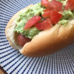 chilean inspired hot dog