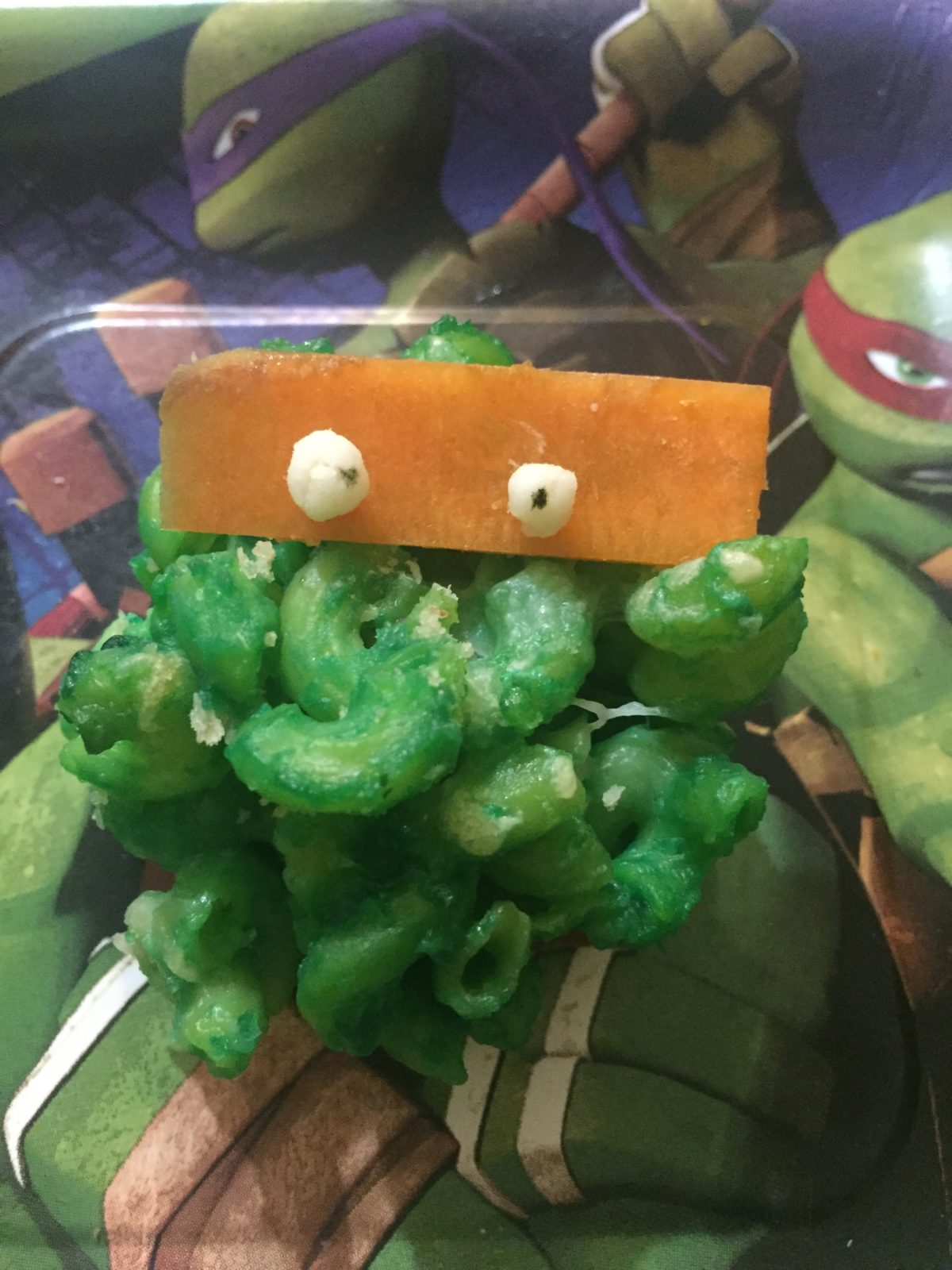 Ninja Turtle Mac n Cheese