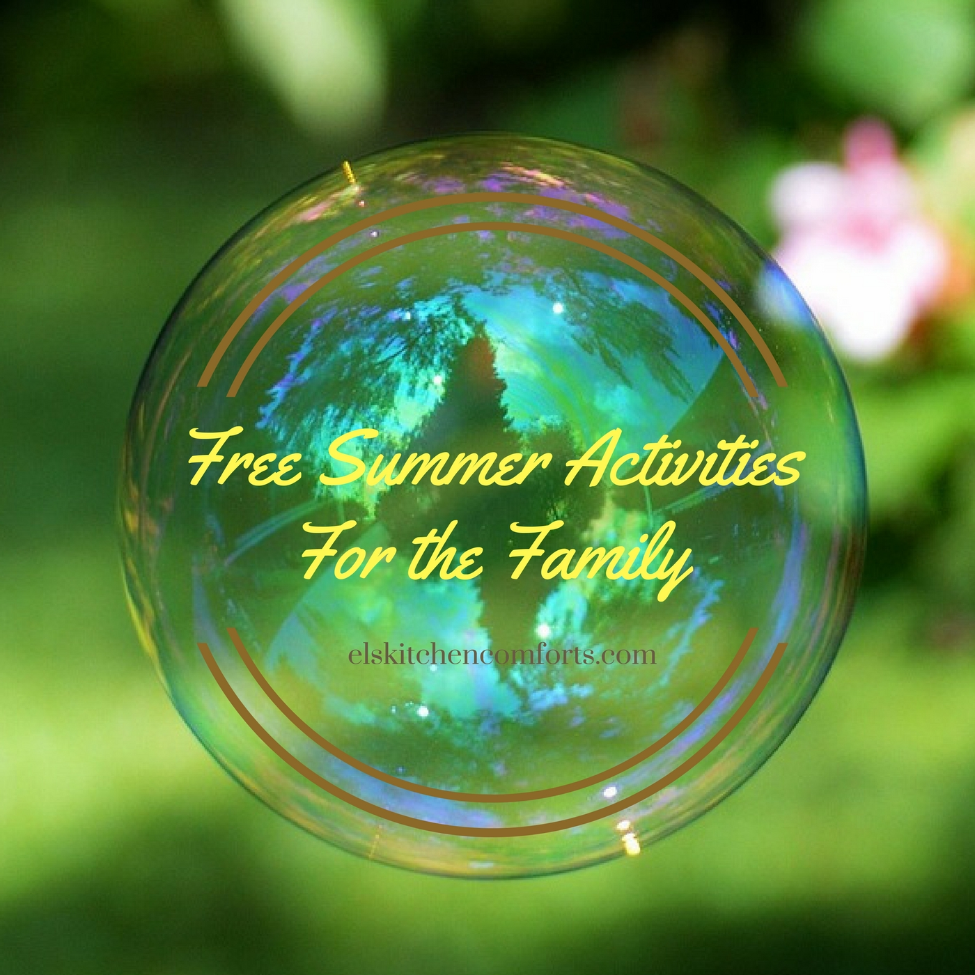 Free Summer Activities for the Fmaily