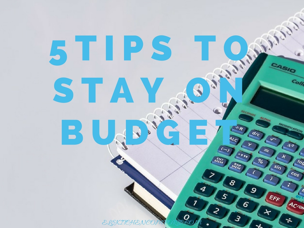 tips to stay on budget