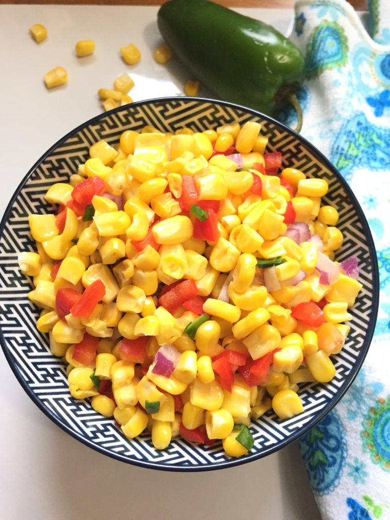 Corn and Jalapeno Salad