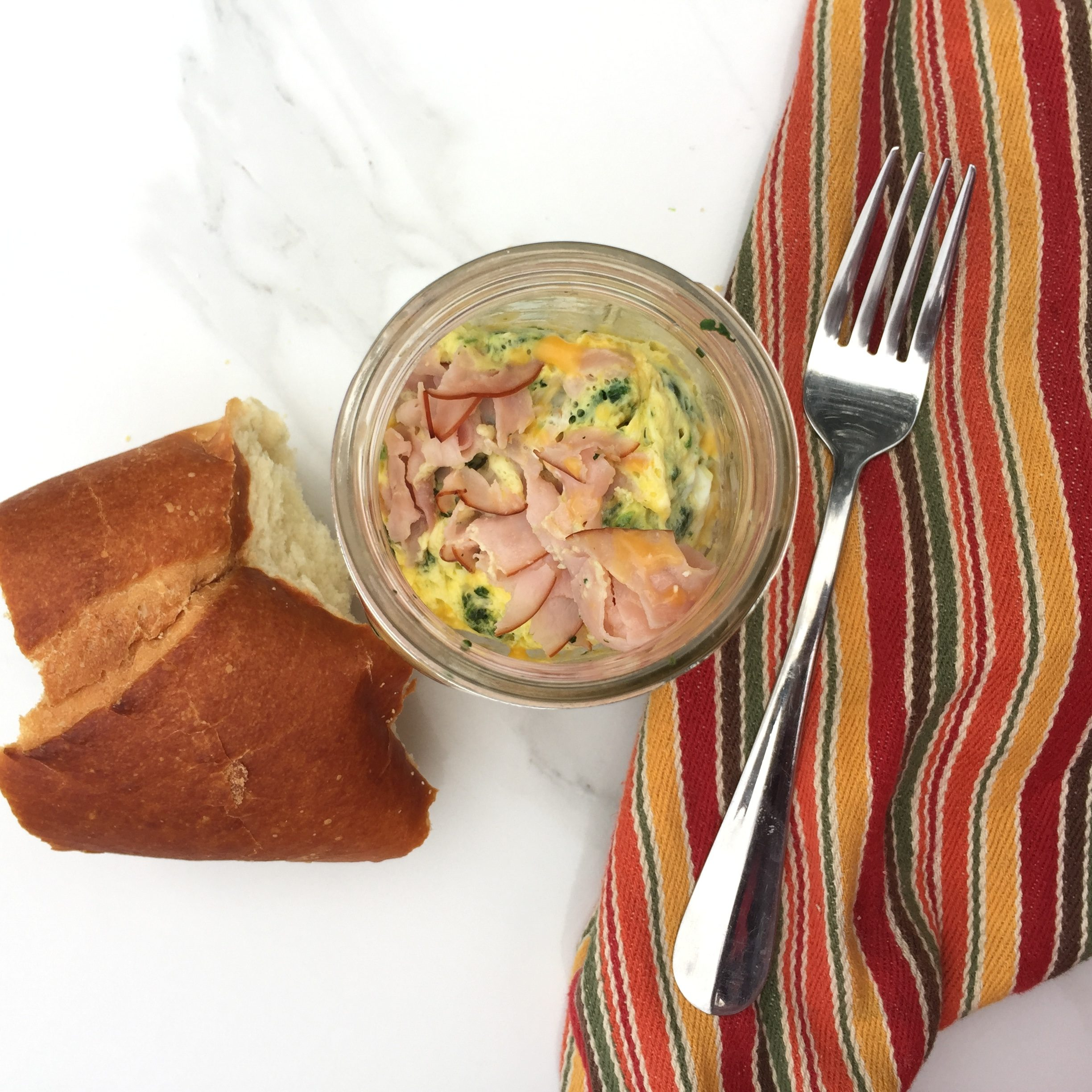 Eggs and Ham in a Jar
