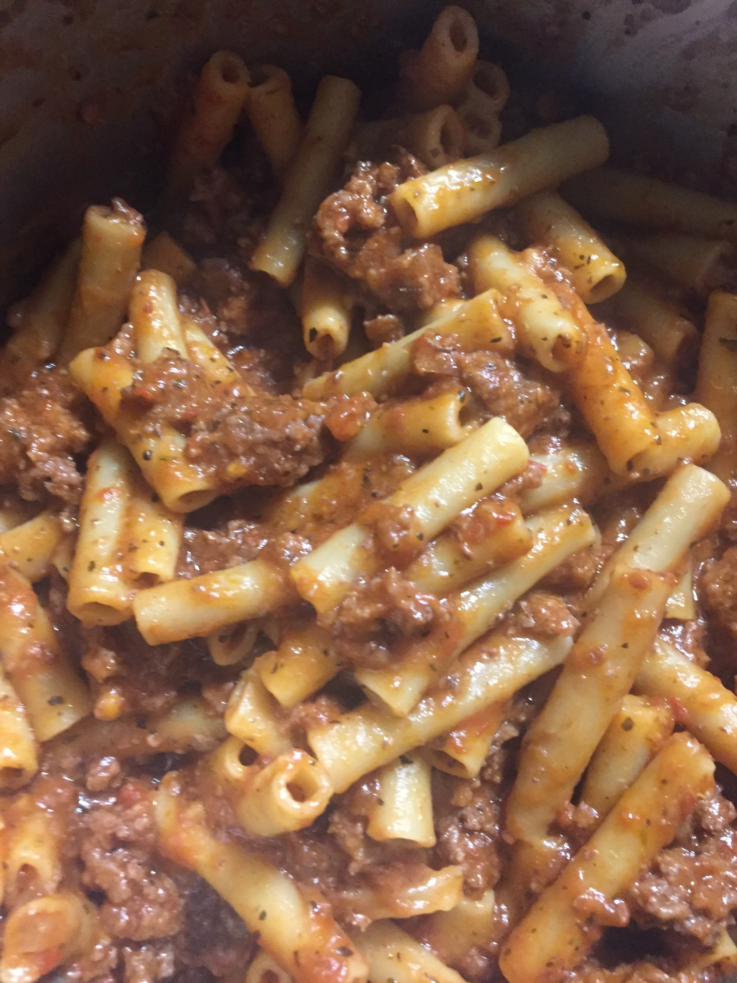 Instant Pot Beefaroni ~ El's Kitchen