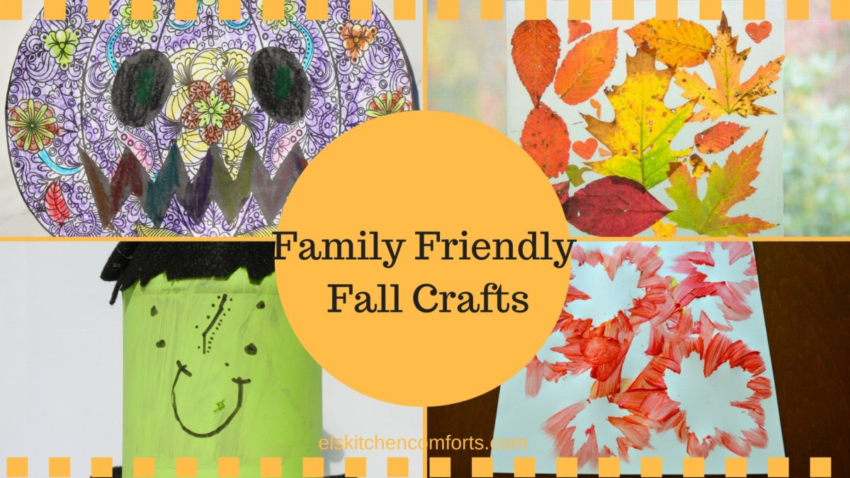 Family Friendly Fall Crafts