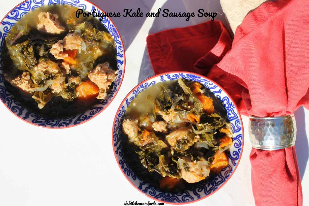 Instant Pot Portuguese Kale and Sausage Soup