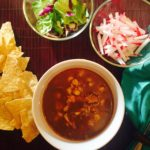 chicken pozole toppings