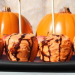Pumpkin Candy Apples
