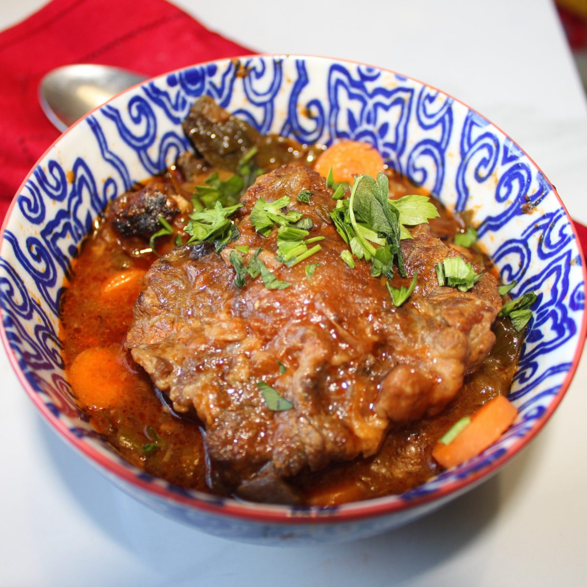 South African Oxtail Potjie