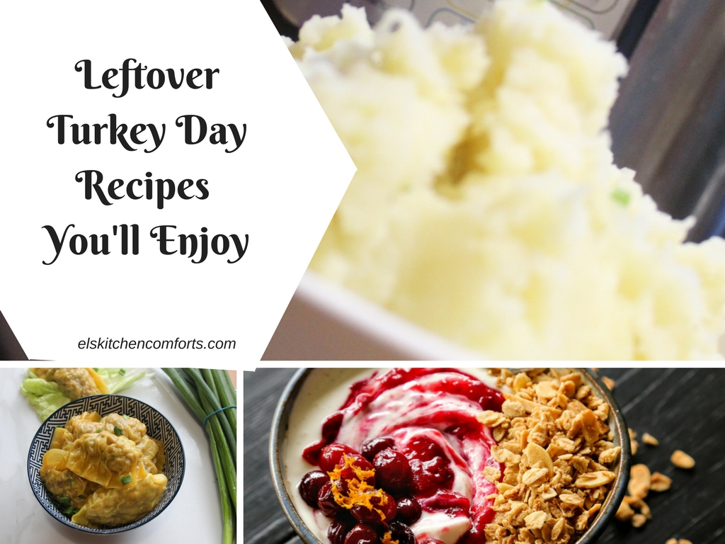Leftover turkey day recipes you'll enjoy