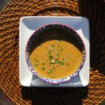 coconut curry pumpkin soup