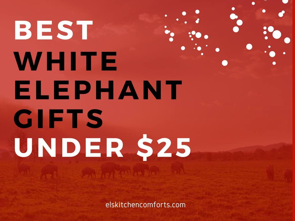 Best White Elephant Gifts Under $25