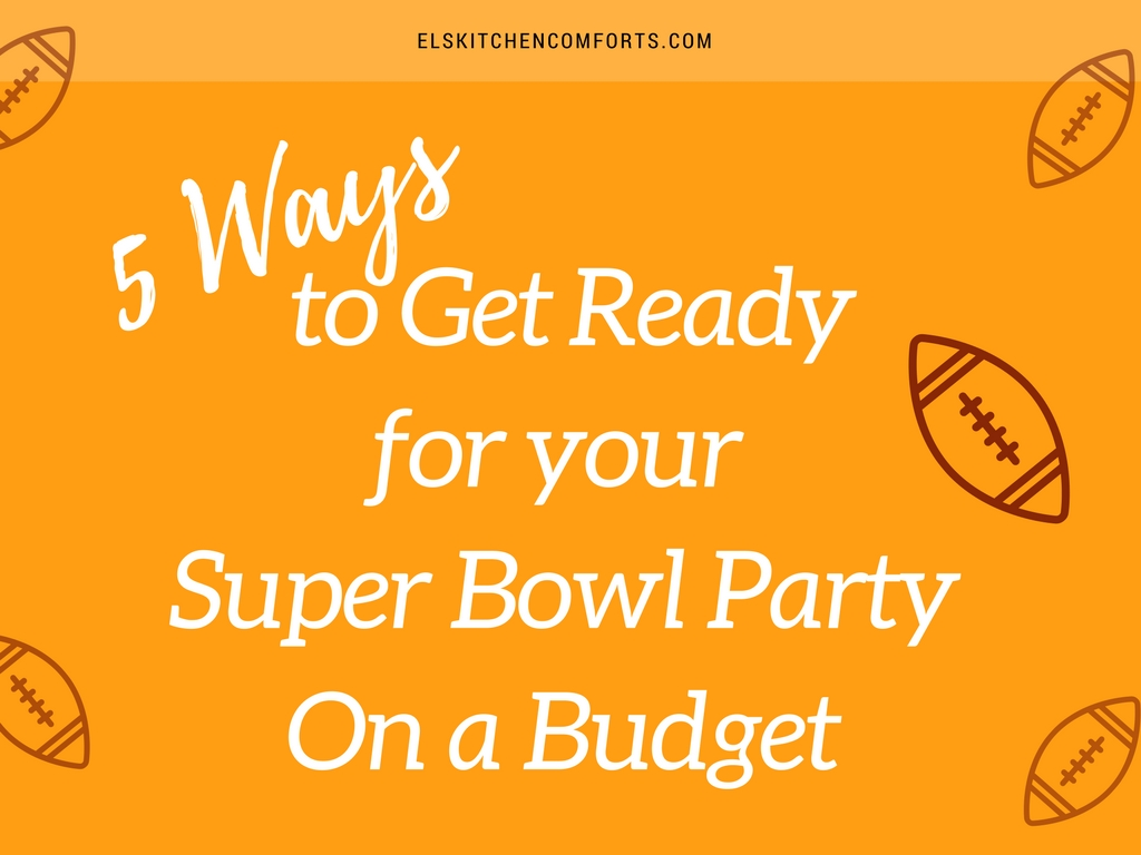 5 Ways to Super Bowl Budget