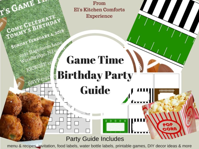 Game Time Birthday Party Guide