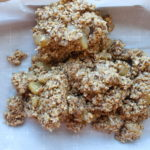 apple pie coconut granola bars