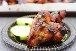 Baked Sweet Sticky Sesame Wings
