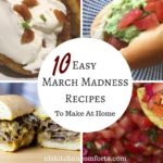 10 easy march Madness recipes to make at home