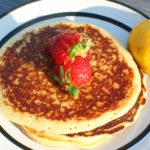 Lemon Greek Yogurt Pancakes