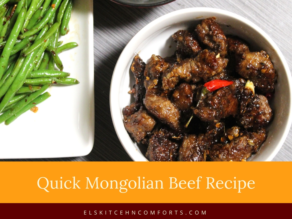 Quick Mongolian Beef Recipe