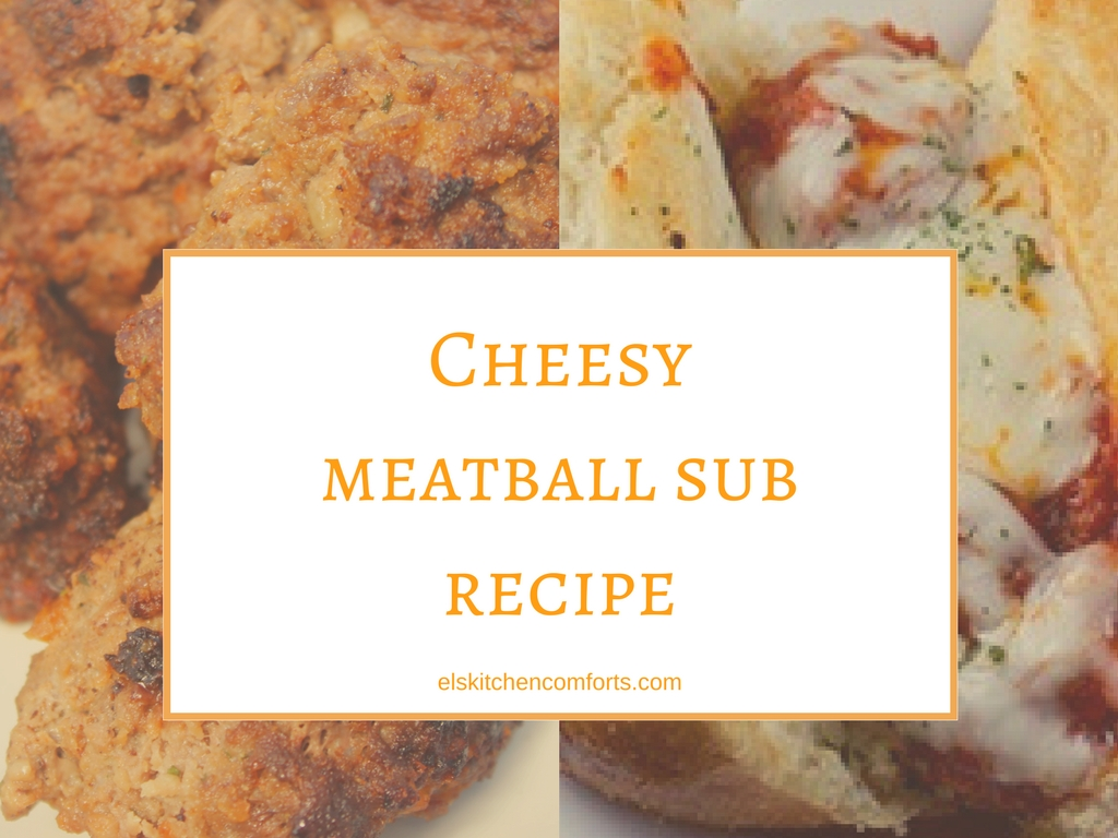cheesy meatball sub recipe