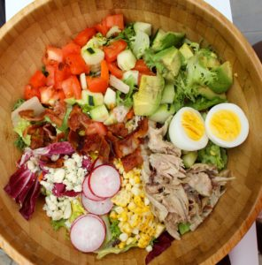 Summer Chicken Cob Salad