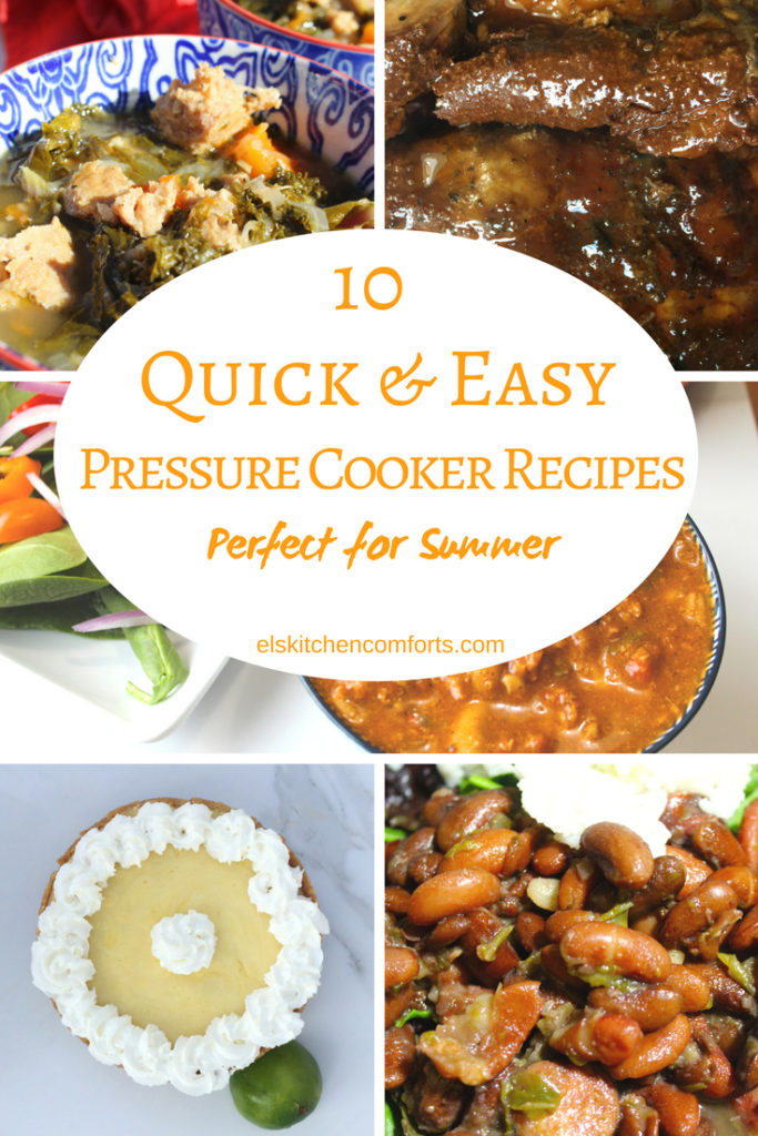 10 Quick and Easy Pressure Cooker Recipes Perfect for Summer