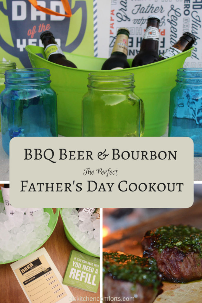 BBQ Beer & Bourbon the perfect father's day cookout