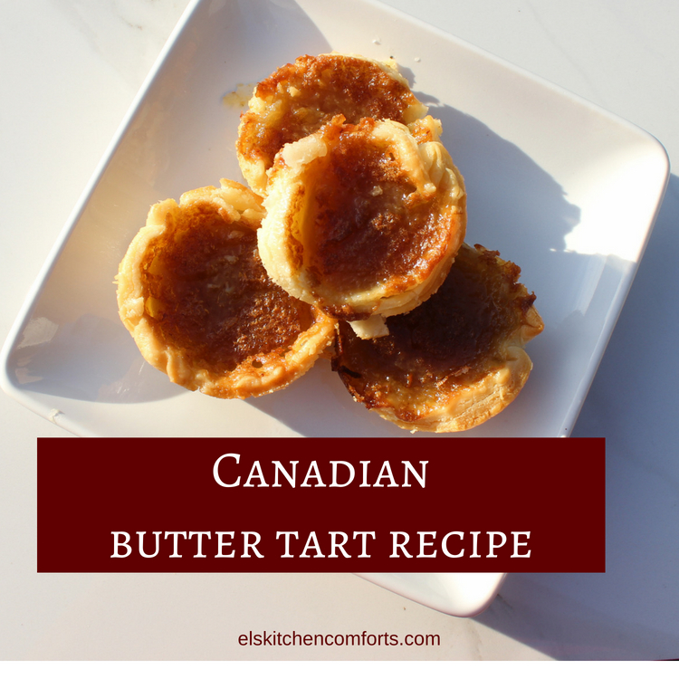 Canadian butter tart recipe to celebrate Canada Day