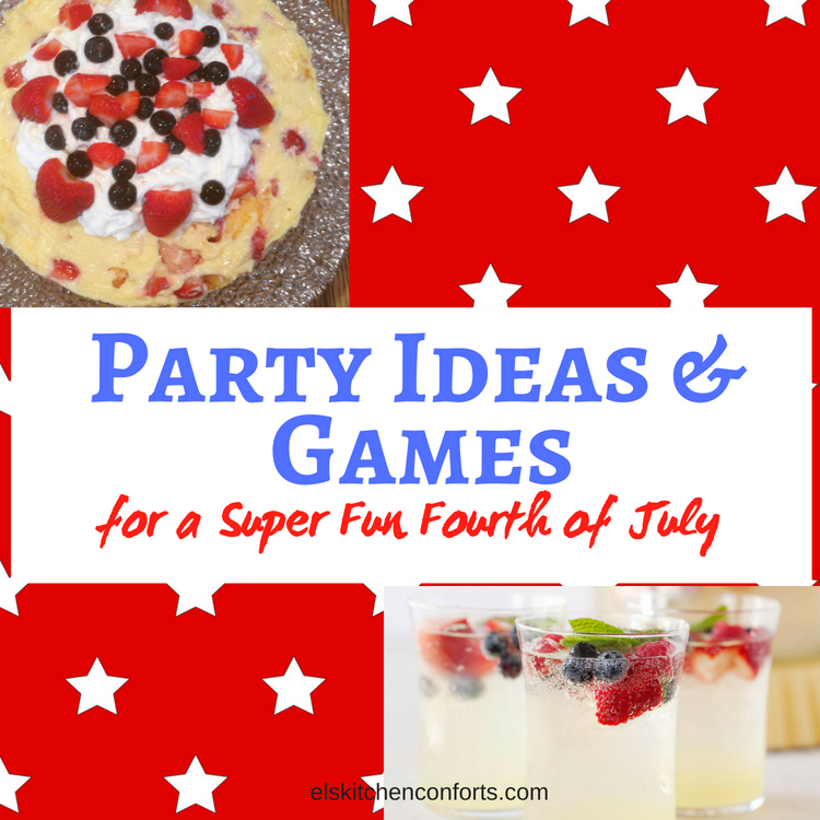 party Ideas and games for a super fun 4th of July