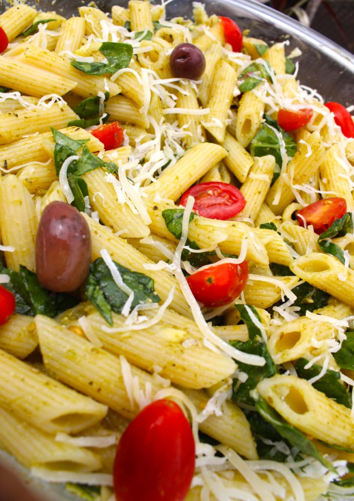 Quick & Easy Summer Pesto Pasta Recipe