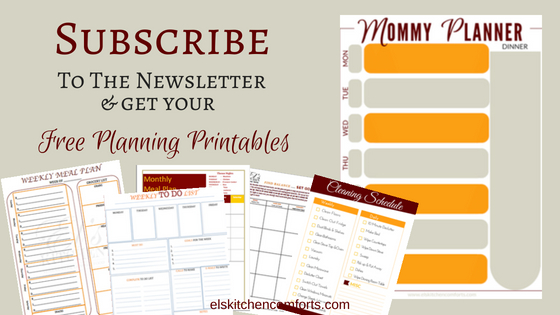 Free Planning Printables