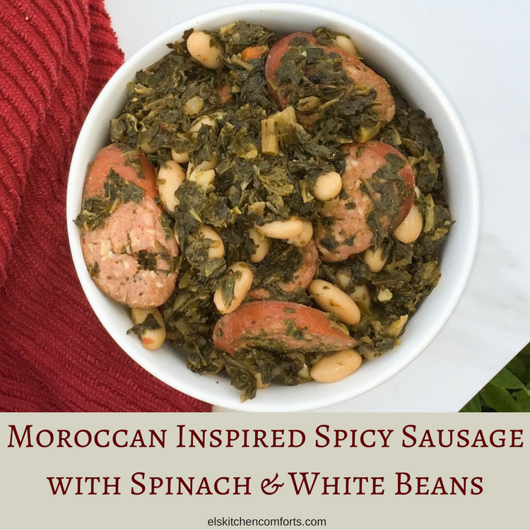 Moroccan Inspired Spicy Sausage