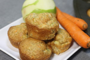 Moist Apple Carrot Muffin Recipe