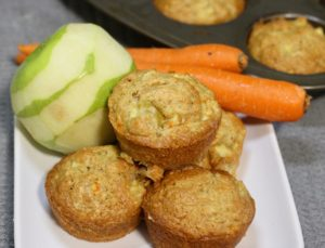 Moist Apple Carrot Muffin Reciipe
