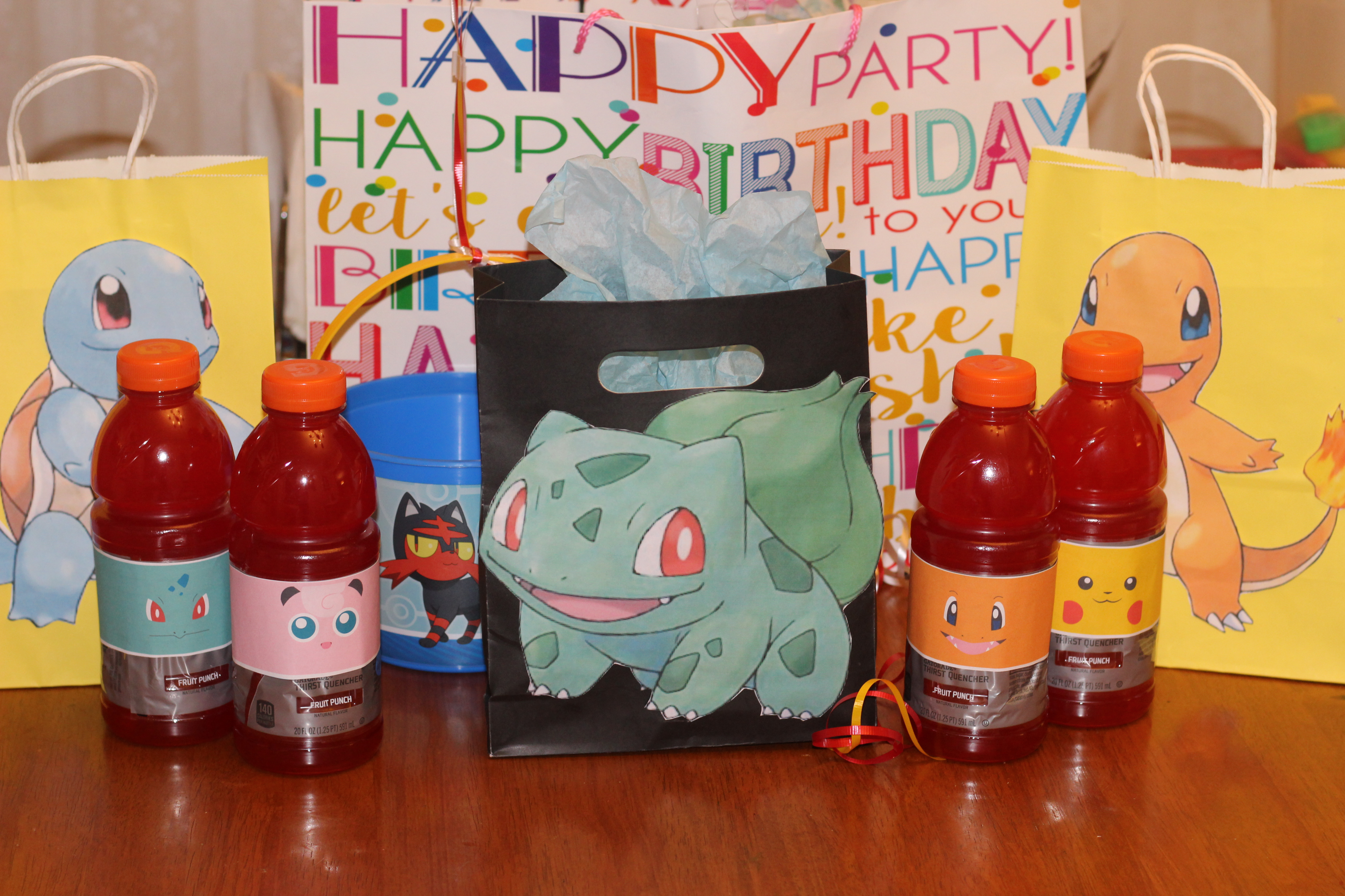 great ideas for a pokemon birthday party