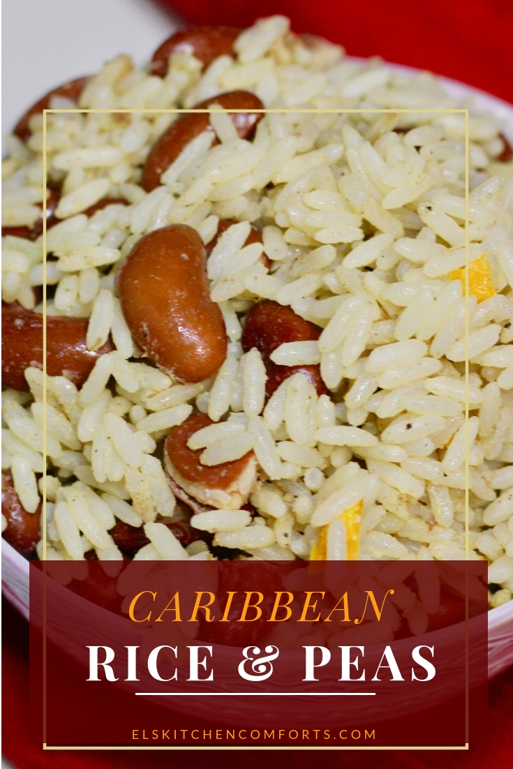 Caribbean rice & peas recipes