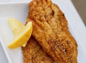 Golden Fried Fish