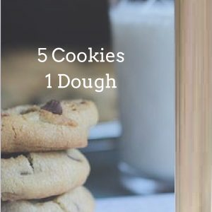 5 Cookies 1 Dough Cookbook