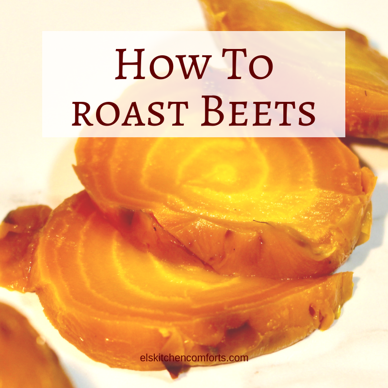 How to Roast Beets in the Oven