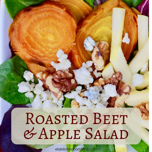 Roasted Apple and Beet Salad Recipe