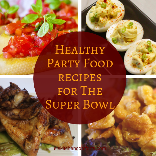 10 healthy party food recipes for the super bowl