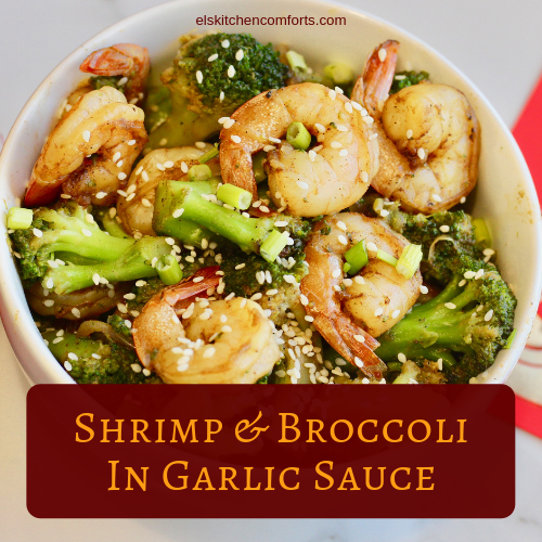 Shrimp and Broccoli in Garlic Sauce